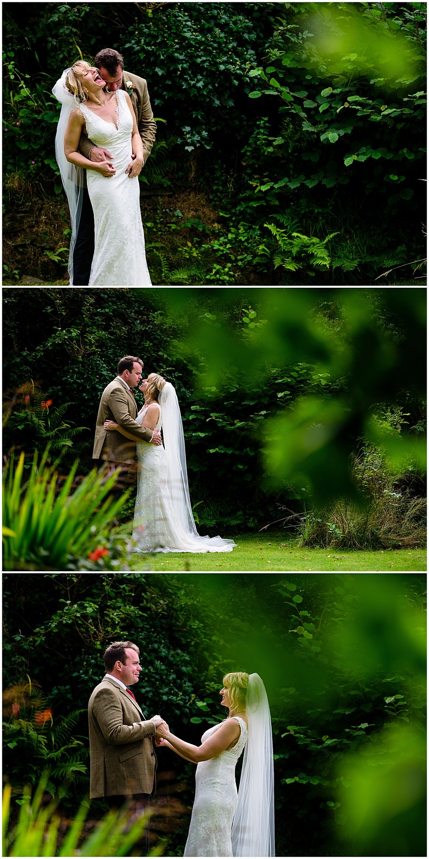 relaxed wedding photography at Coads green village hall