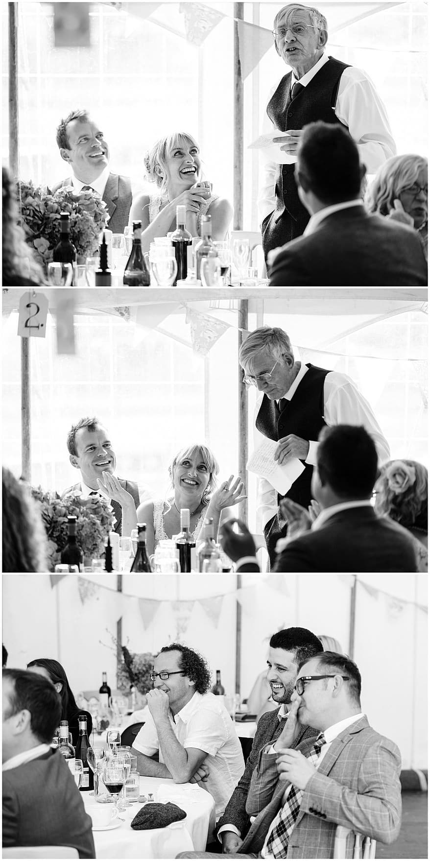 father of the bride speeches at a village fete themed wedding