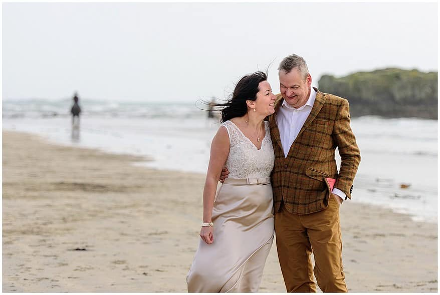 St Michael's mount wedding photographs