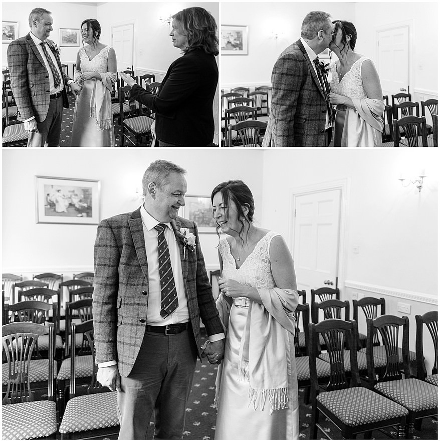 Penzance registry office wedding