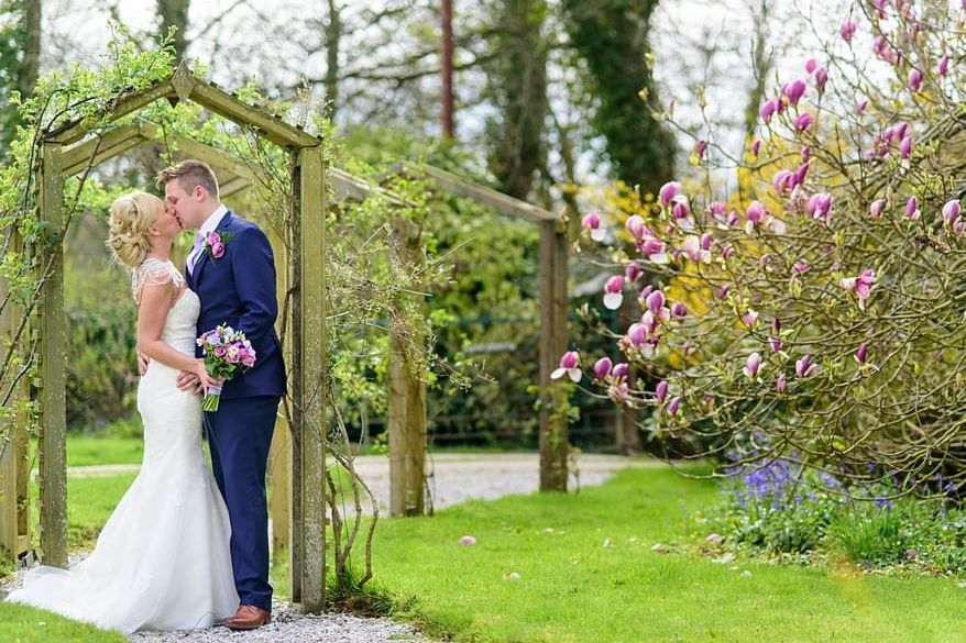 Nancarrow Farm wedding 1