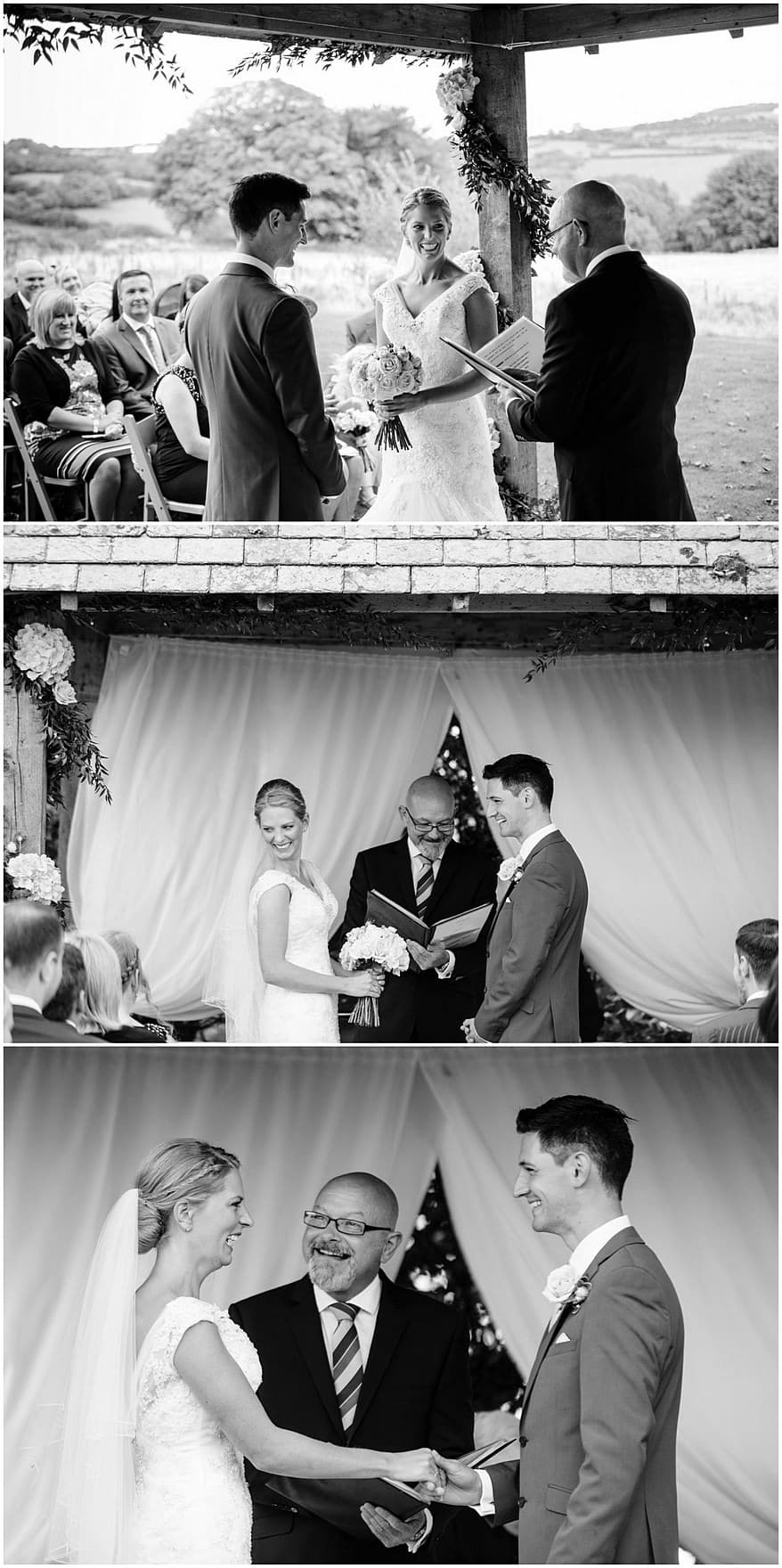 getting married at the arbour at trevenna barns