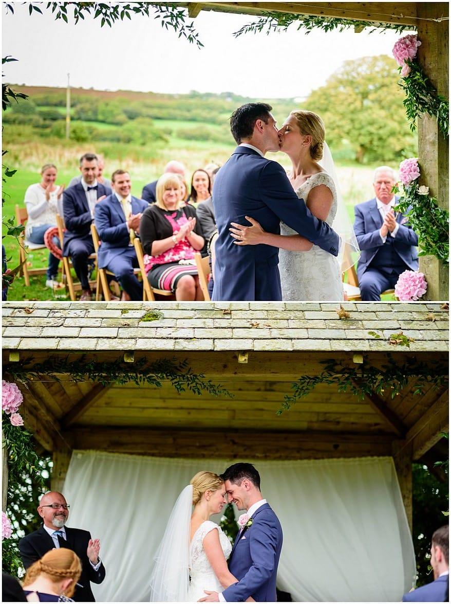 you may kiss the bride at trevenna barns