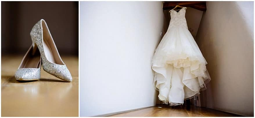 brides wedding details at trevenna barns