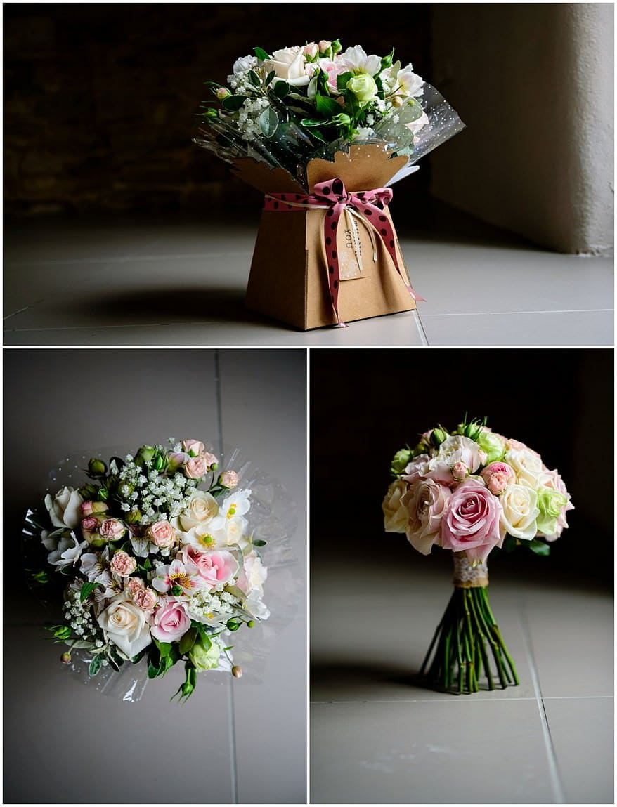 Wedding flowers at Trevenna barns
