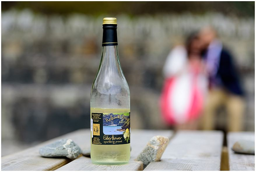 Helford Creek elderflower sparkling wine