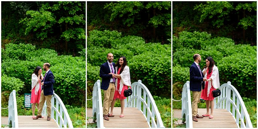 Trebah Gardens Marriage Proposal