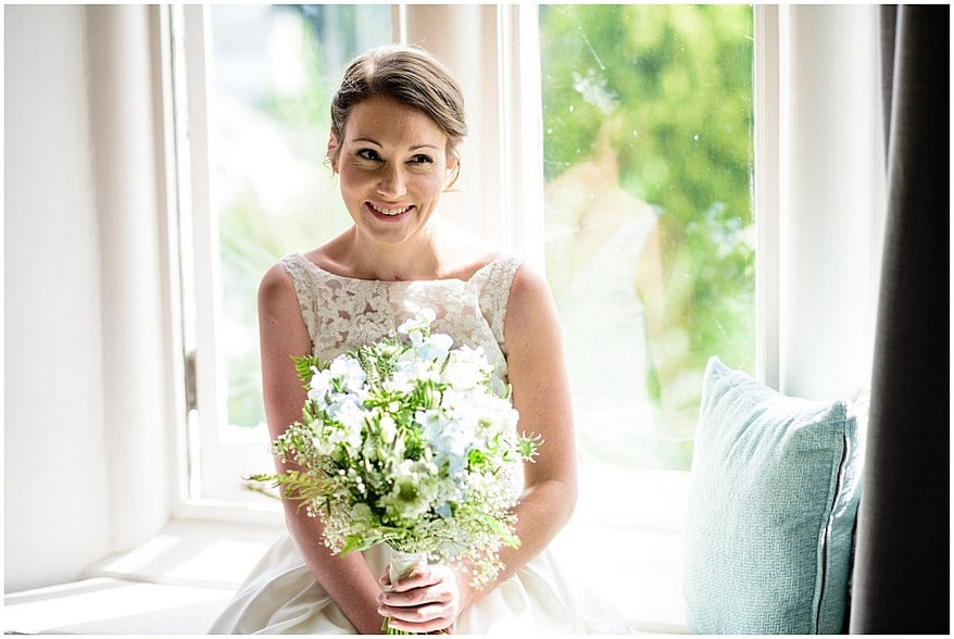Beautiful bride at the alverton hotel in Truro 15