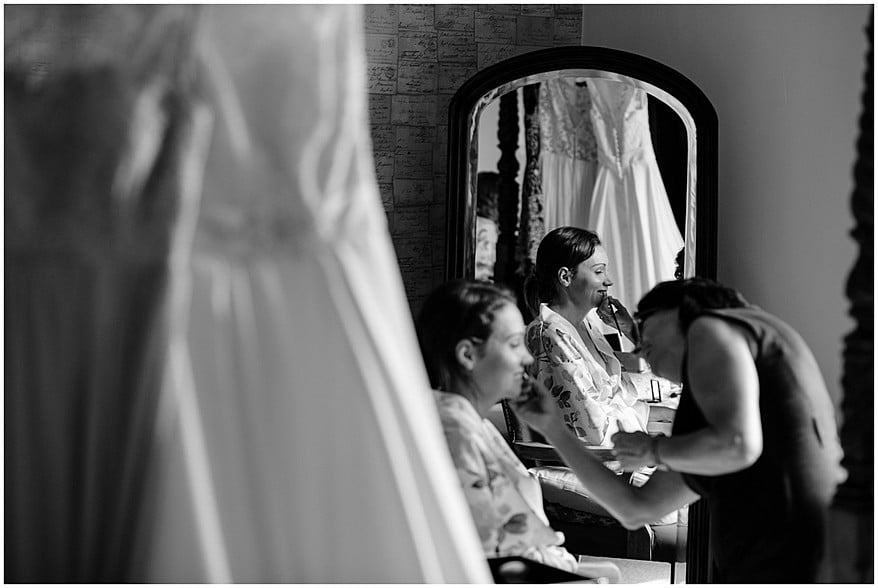 Bridal preparation at the alverton hotel 3