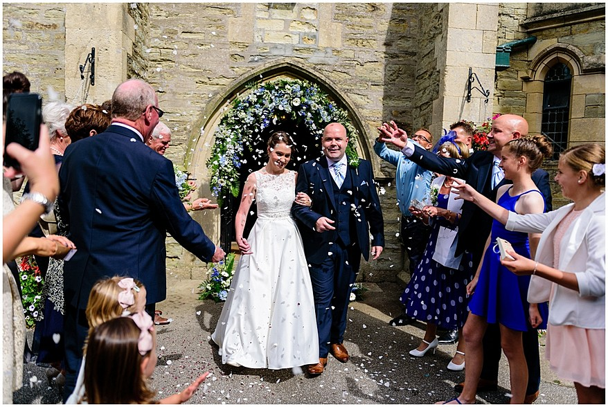 confetti photograph at the alverton hotel 37