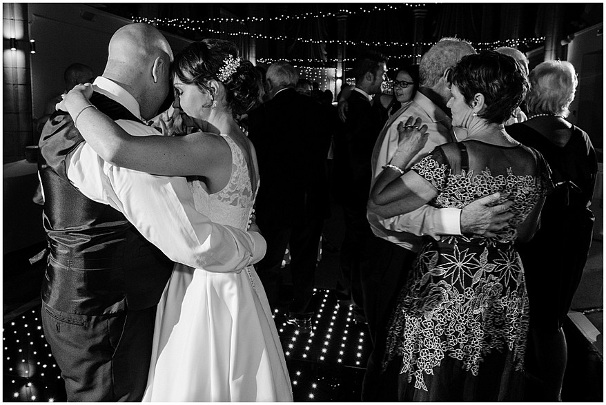 wedding guests dancing at the alverton hotel in truro 67