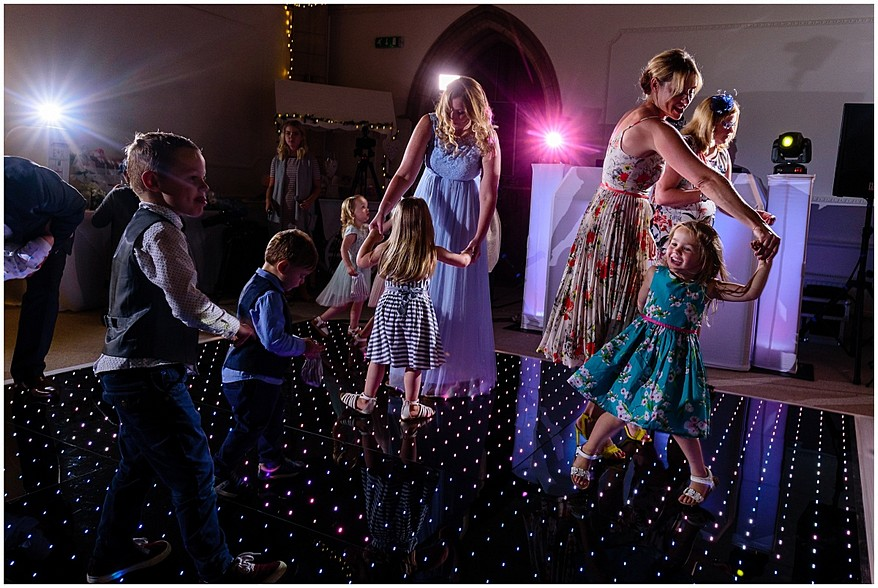 wedding DJ at the alverton in Cornwall 68