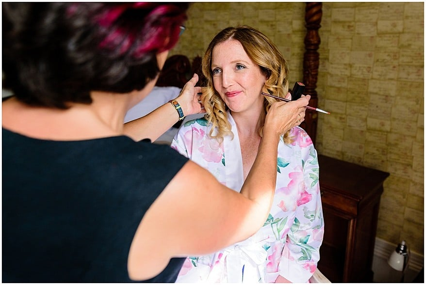 Penny pascoe makeup at the alverton hotel wedding 7