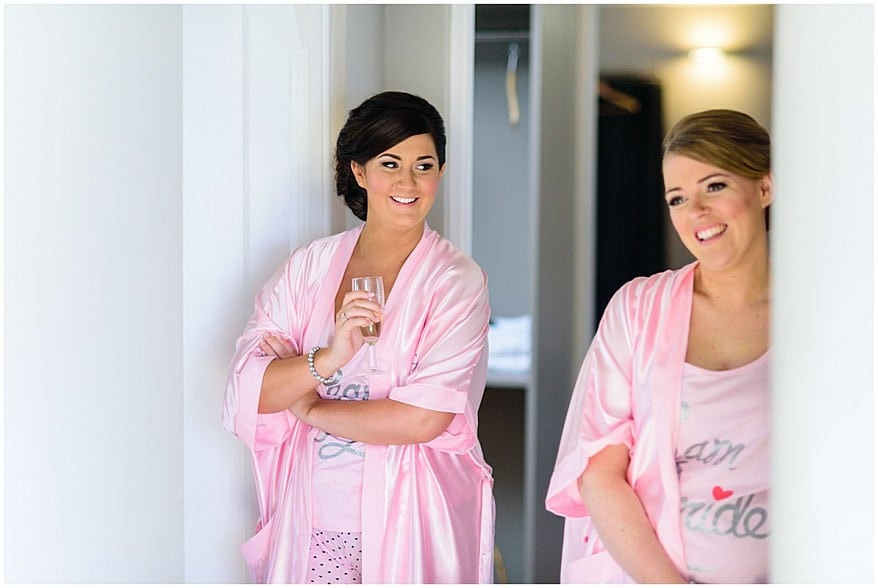 bridesmaids at trevenna barns in bodmin 3