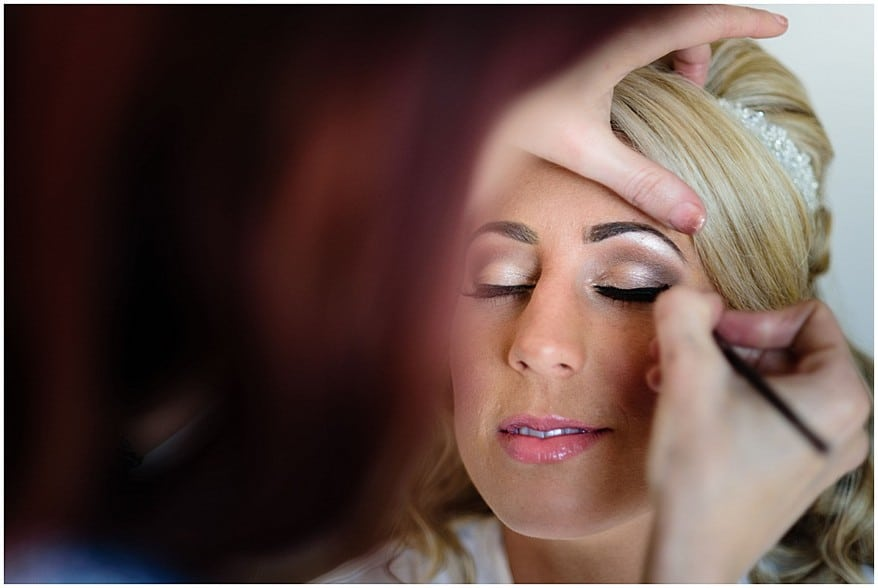 wedding make up at Trevenna barns in bodmin 4