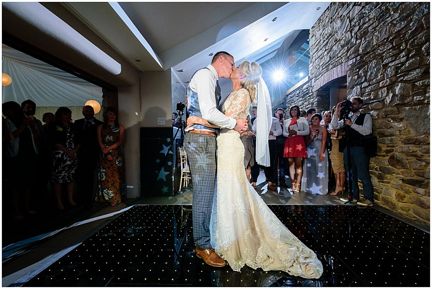 first dance at trevenna barns in bodmin 64
