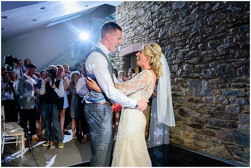 first dance at trevenna barns in bodmin 66