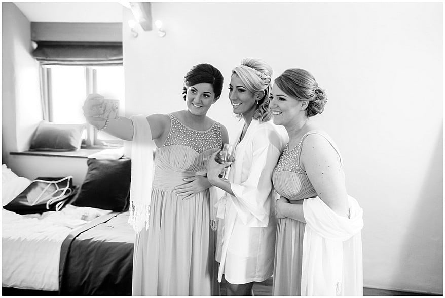 bridal preperation at trevenna barns in bodmin 7