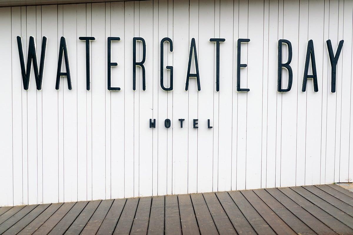 wedding at watergate bay hotel 1