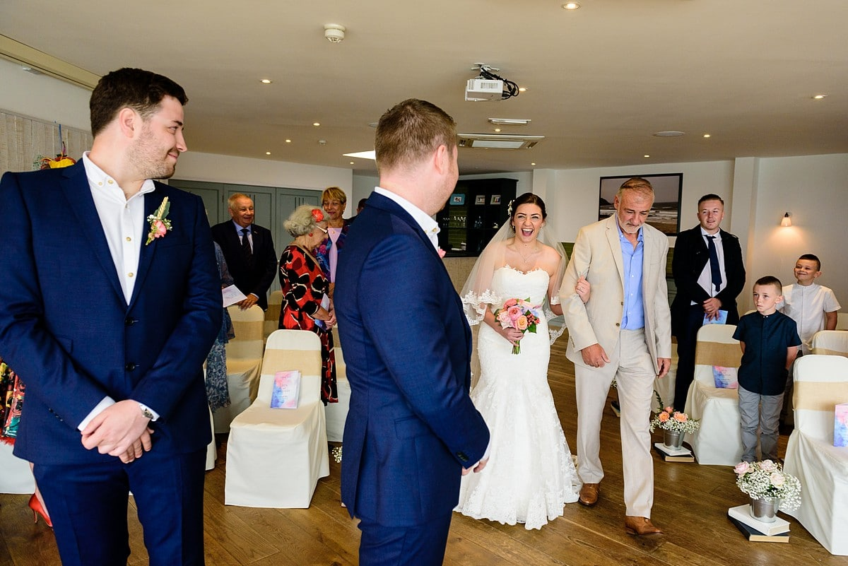 wedding at Watergate Bay Hotel 19
