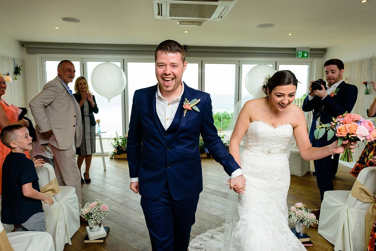 wedding at Watergate Bay Hotel 38