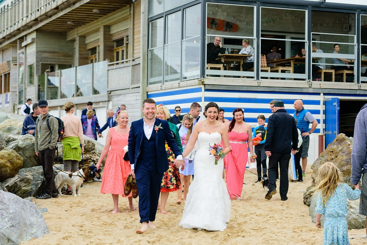 wedding at Watergate Bay Hotel 45