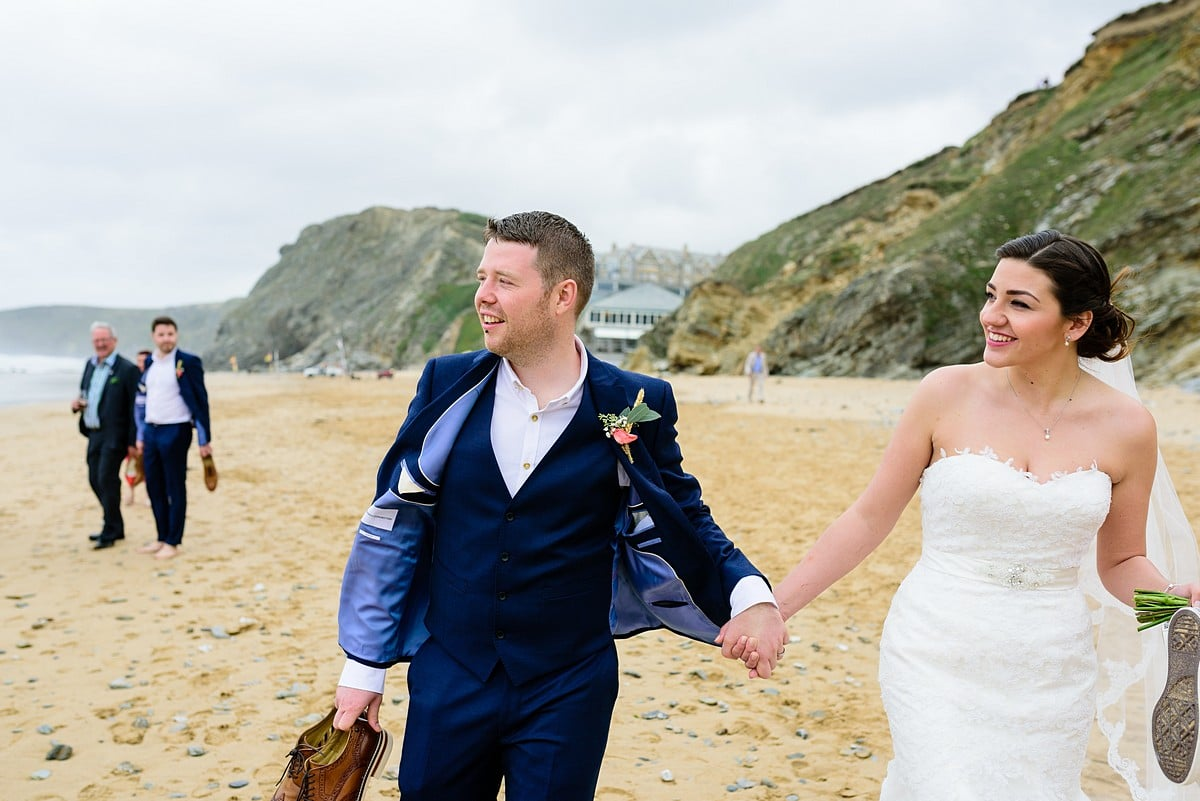 wedding at Watergate Bay Hotel 47