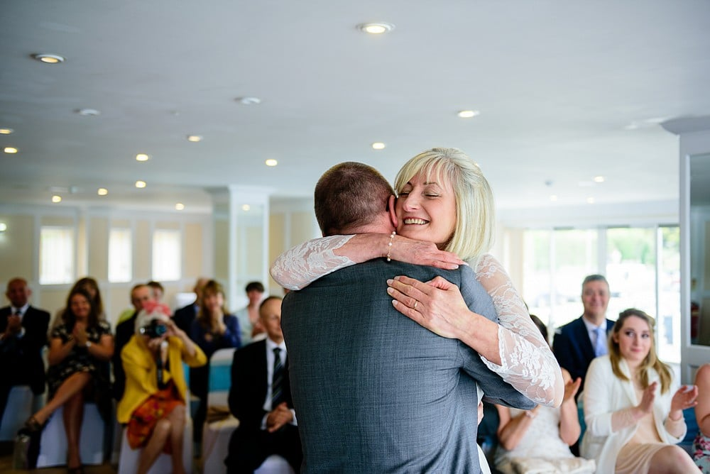 Wedding ceremony at the Greenbank Hotel in Falmouth 1