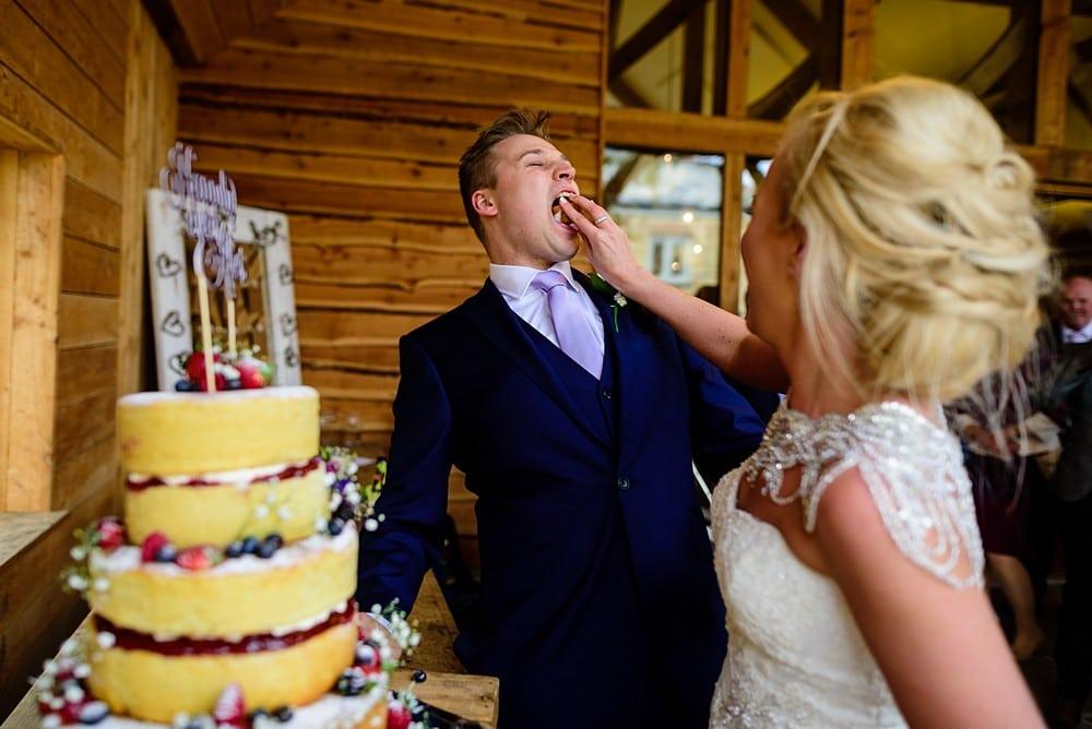 Wedding photography at Nancarrow Farm 1