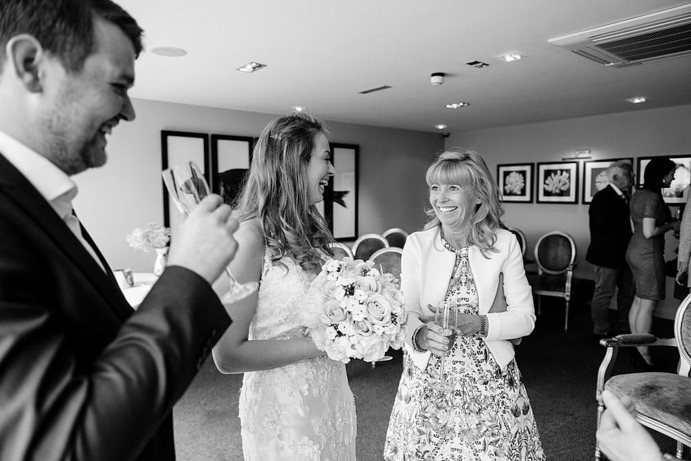St Just in Roseland wedding 1