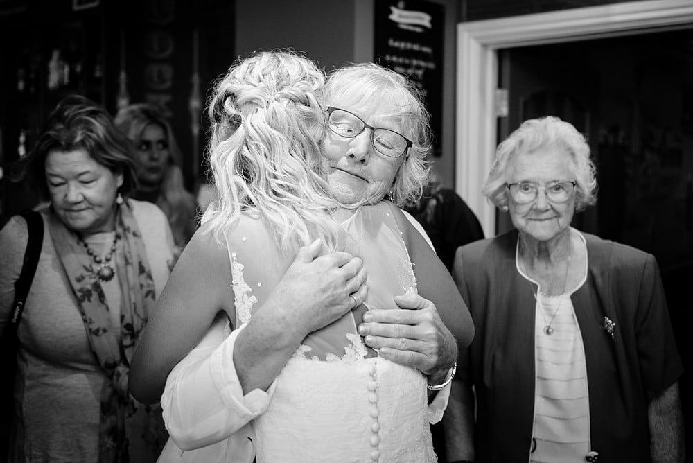wedding photography at An Mor in Bude 1