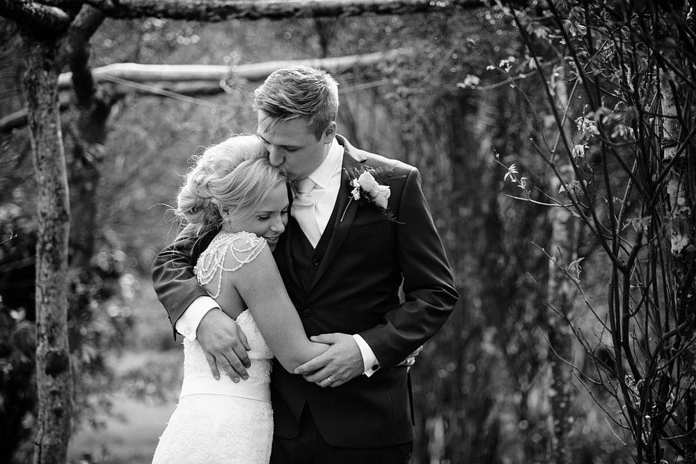 Bridal photographs at Nancarrow Farm 1