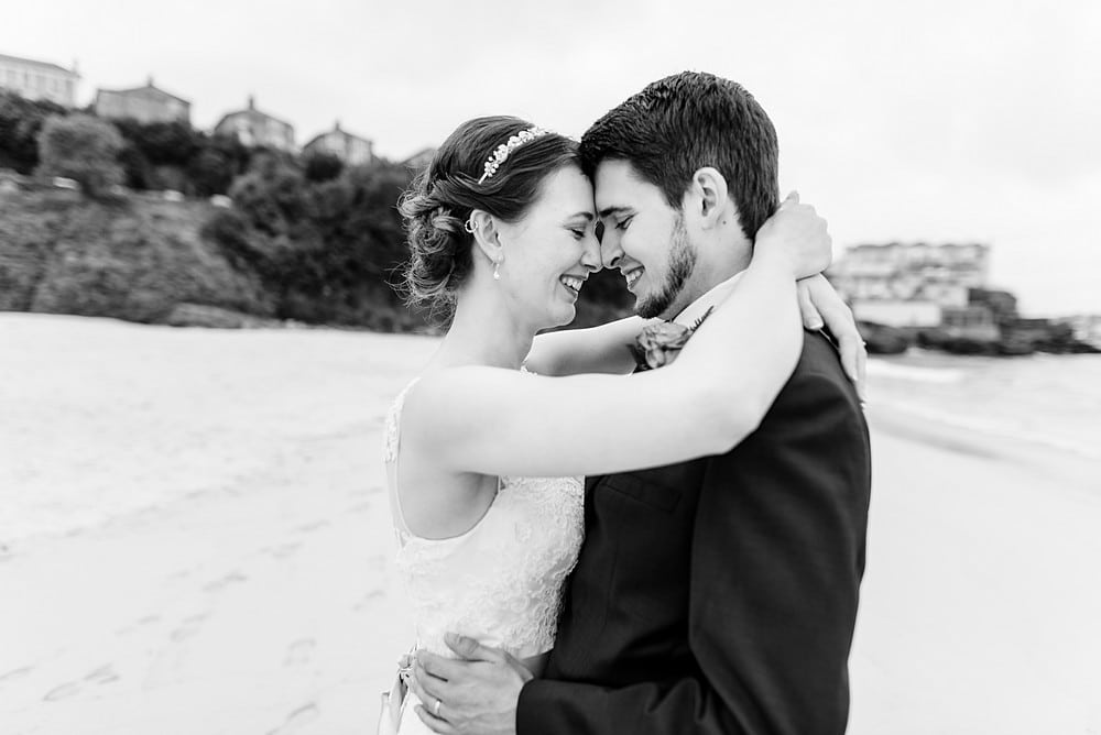 wedding photography at St Ives Harbour Hotel 1