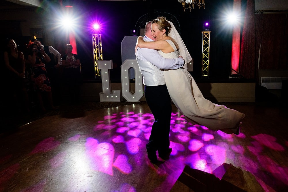 Wedding at the Penventon Hotel in Cornwall 1