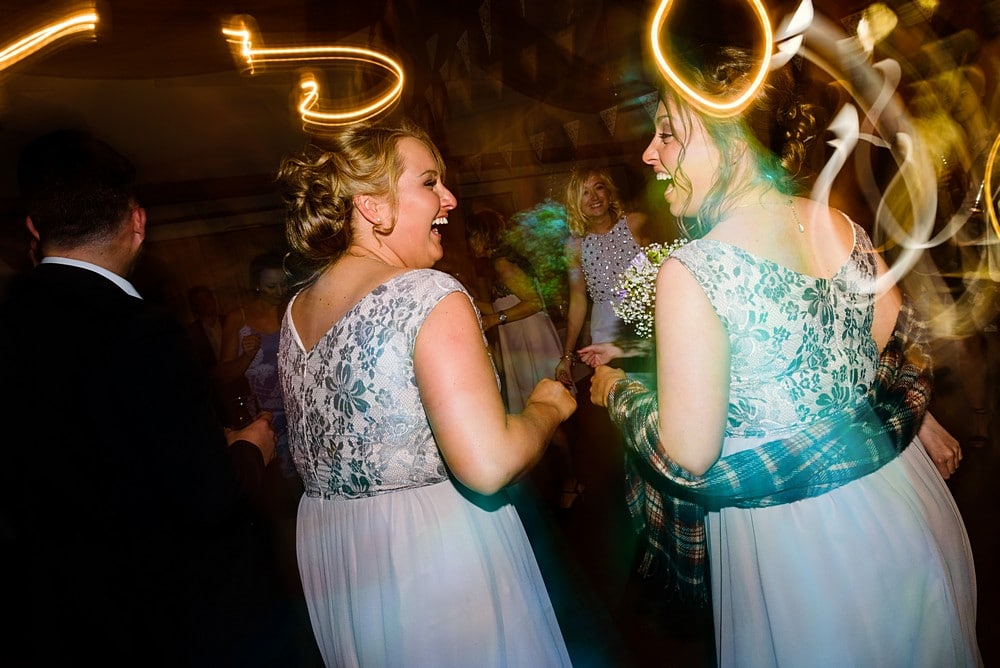Wedding dance at Nancarrow Farm in Cornwall 1