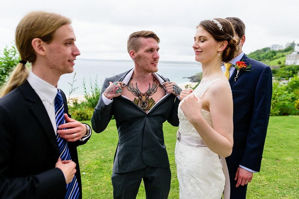 Reportage wedding photographer cornwall 4