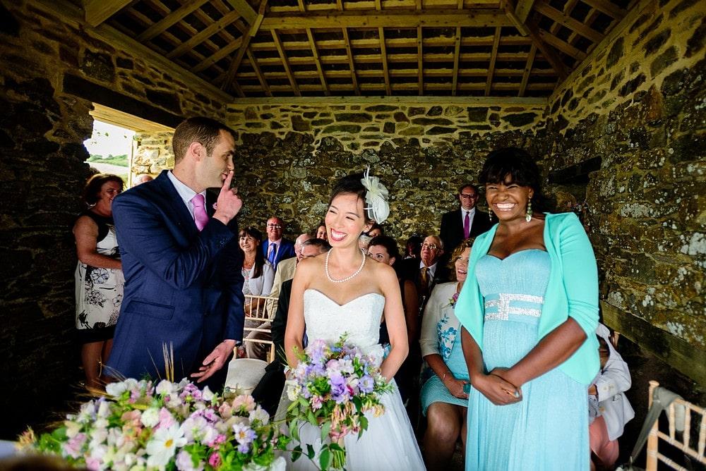 Reportage wedding photographer cornwall 25