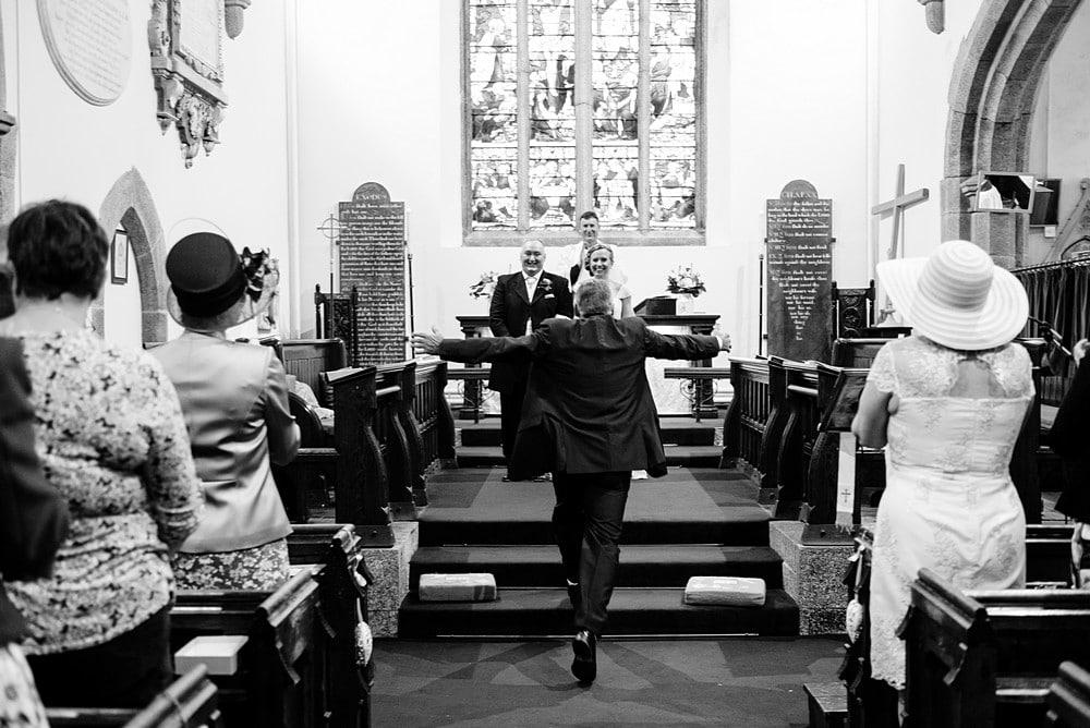 Documentary wedding photographer Cornwall 19