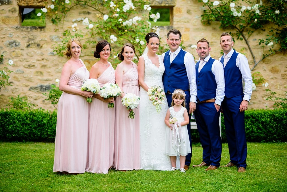 Formal group shots at Chateaux Forge Duroy in France 1