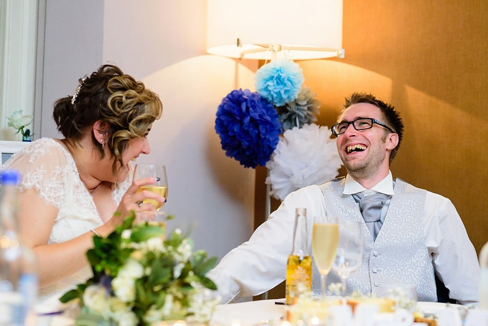 funny wedding speeches at Pendennis Castle 100