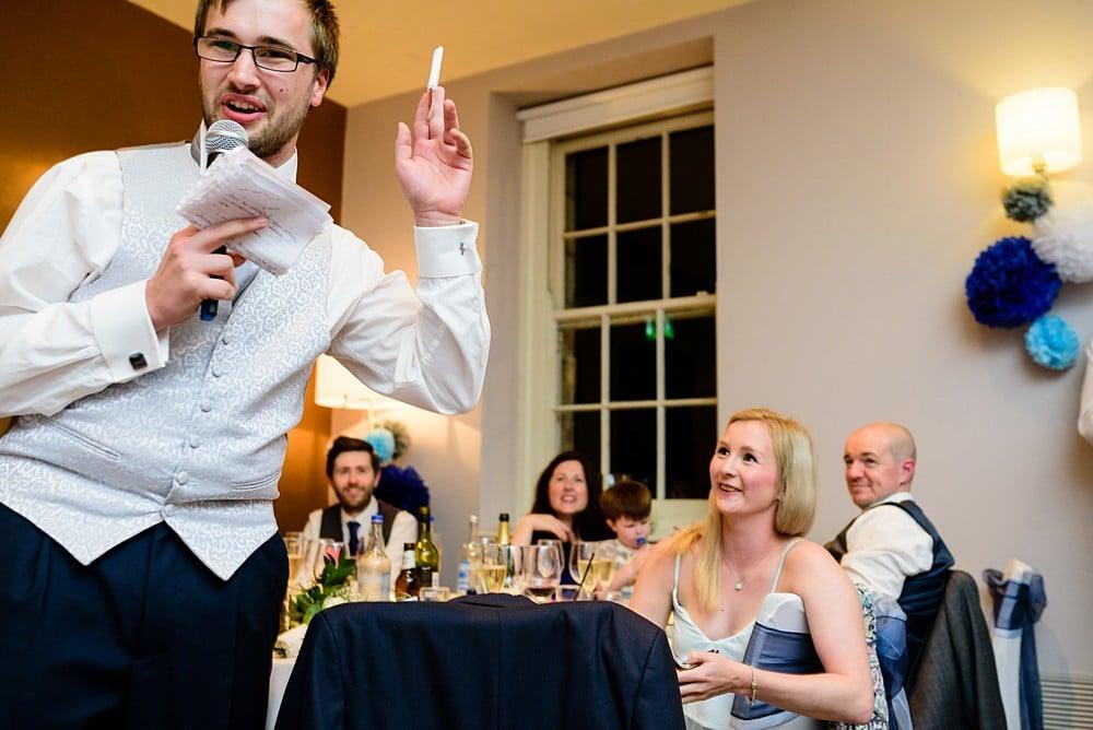 Pendennis Castle wedding speeches 109