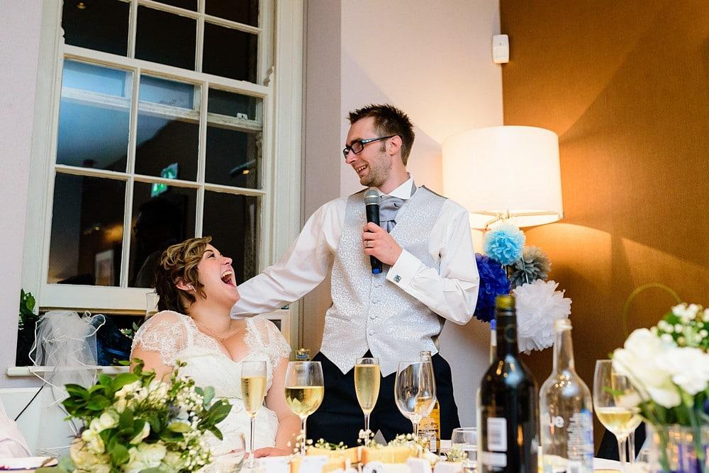 Groom wedding speech at Pendennis Castle 112