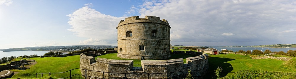 Wedding at Pendennis Castle 12