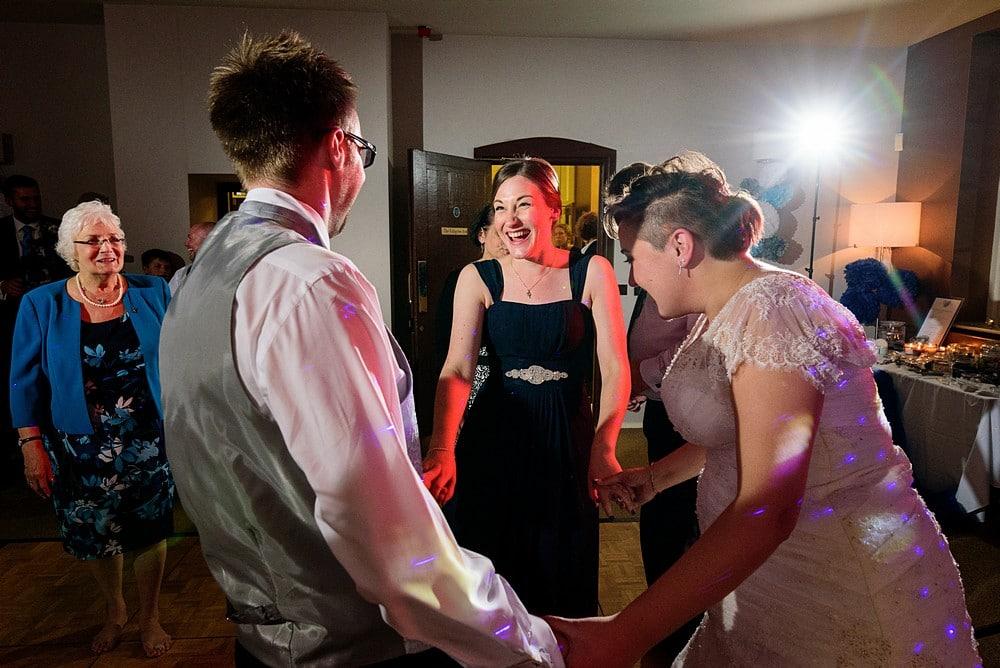 Dave & Ellen's wedding at Pendennis Castle 120