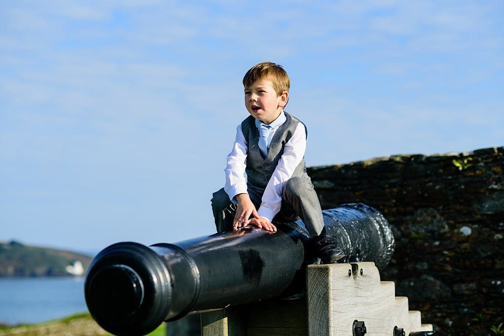 Candid wedding photography at Pendennis Castle 15