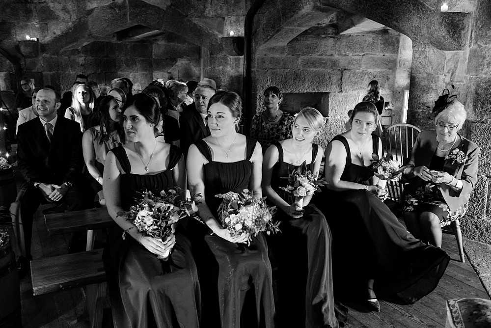 wedding ceremony at Pendennis castle 41