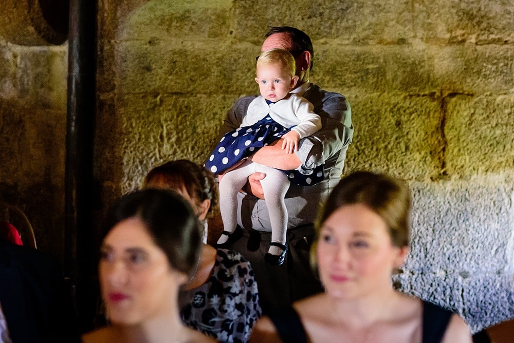 Little girl at a wedding pendennis castle wedding 49