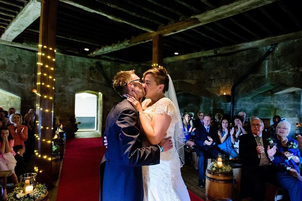 Pendennis castle wedding ceremony 51