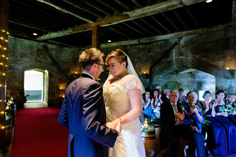 Pendennis castle wedding ceremony 52