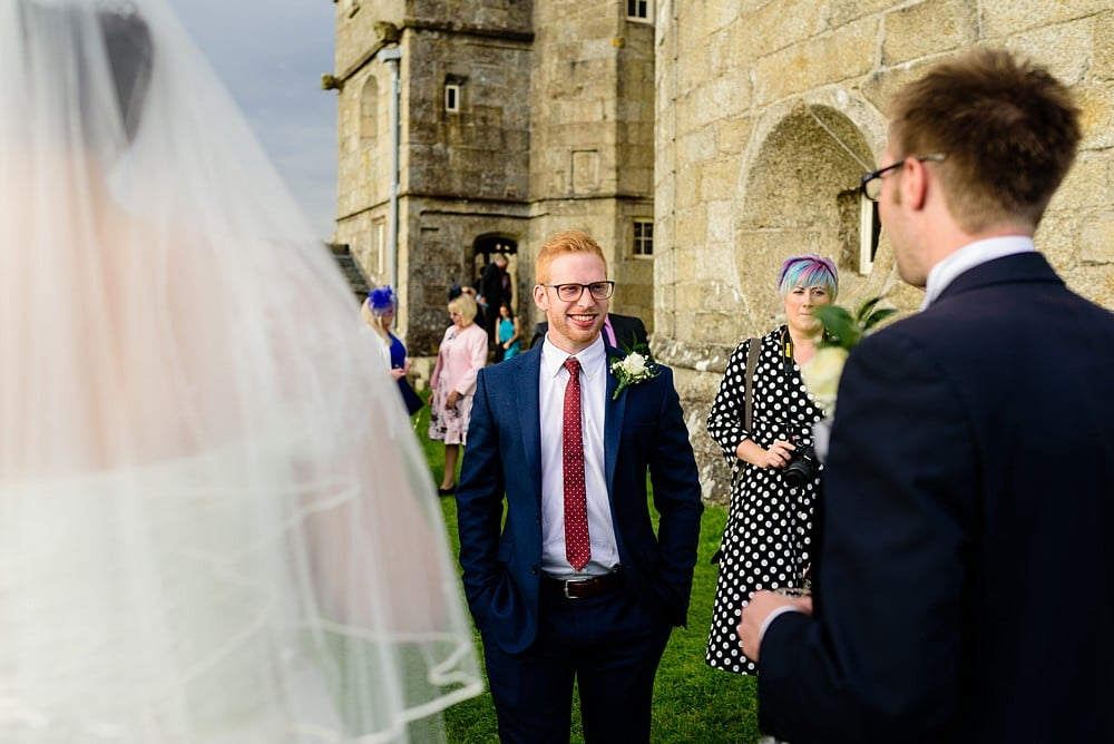 Candid wedding photography at Pendennis Castle 61